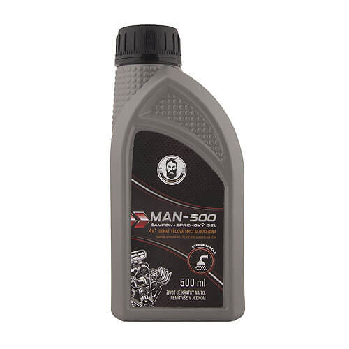 Sprchový gel 500 ml - industrial