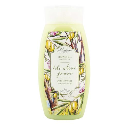 Sprchový gel - oliva