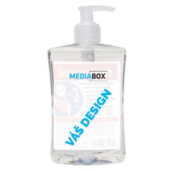 Tekuté mýdlo 500 ml - jakarta