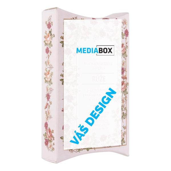 Reklamní tuhé mýdlo v krabičce