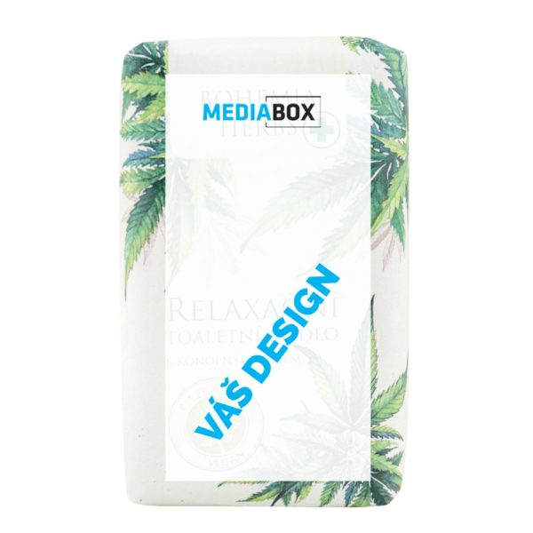 Toaletní mýdlo 100 g - papírový přebal